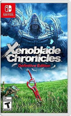 View Details Xenoblade Chronicles Definitive Edition (Nintendo Switch, 2020) NEW • 52.99$