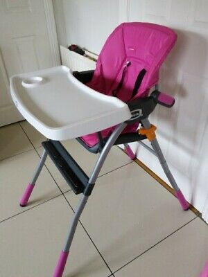 Chicco Jazzy Highchair In Pink Brand New • 45£