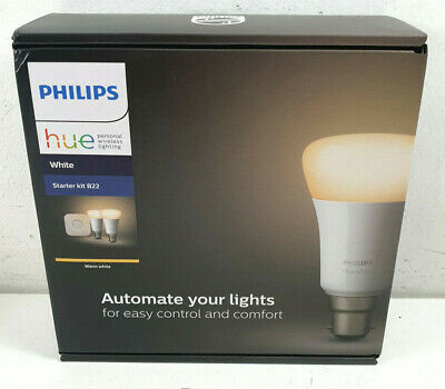 AU22.50 • Buy Philips Hue Warm White Smart Bulb Starter Kit B22 - Bids From $1.00