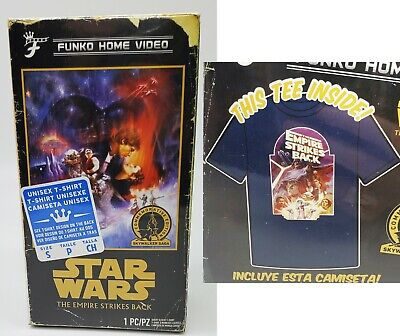 $13.95 • Buy Licensed Official Star Wars Empire Strikes Back Funko T-Shirt Small S NEW SEALED