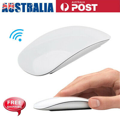 AU23.98 • Buy Wireless Bluetooth Mouse 1600DPI Mice Touch Sensor For IPad Mac Tablet PC Laptop