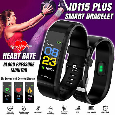 AU10.99 • Buy Smart Bracelet Fitness Activity Tracker Fitbit Heart Rate Monitor Android IOS