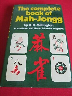 $24.75 • Buy The Complete Book Of Mah-jongg By A.d. Millington - Hb Book