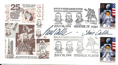 $4.99 • Buy Apollo 11 Moon Landing, Neil Armstrong, Stamp Designers Paul Calle & Chris Calle