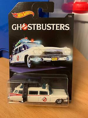 Hot Wheels 2016 #7/8 Ghostbusters ECTO 1 Brand New & Sealed • 14.99£