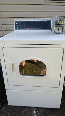 $375 • Buy Alliance Huebsch Speed Queen Commercial Gas Dryer Coin Operated