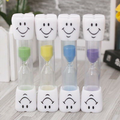 AU4.96 • Buy 2 Minute Hourglass Kid Toothbrush Timer Smiley Sand Egg Timer Timer