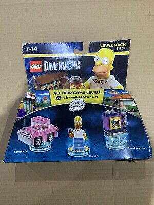 AU49.99 • Buy LEGO Dimensions 71202 The Simpsons Level Pack - Brand New Homer