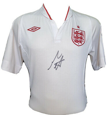 £69.99 • Buy Signed England Home Shirt By Mark Wright Liverpool Derby Southampton Oxford