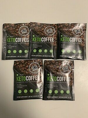 $19 • Buy It Works! Keto Coffee 5 Individual Packets Carb Management