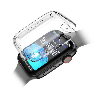 $ CDN4.06 • Buy For Apple Watch 5 4 Case TPU Bumper Full Cover Screen Protector IWatch 40/44mm