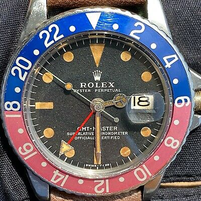 $ CDN21077.14 • Buy Rolex GMT-Master 1675 Pepsi Pink Matte Mark 2 Dia Vintage C. 1972 Steel 40 Mm