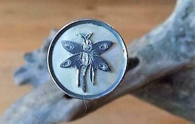 Fabulous Edwardian Hat Pin, With Silver Insect, 1912 Full B'ham Hallmark, By P&T • 11.50£