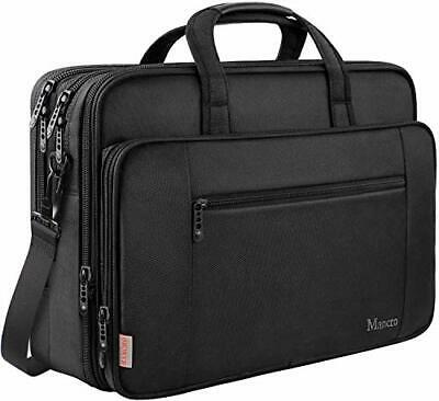 Laptop Bag, 17 Inch Business Briefcase For Men Women Large Waterproof Laptop • 28.99£
