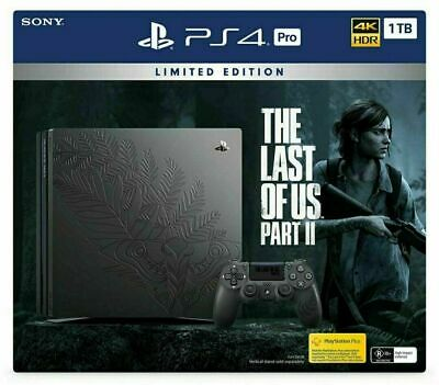 AU850 • Buy The Last Of Us Part 2 - Limited Edition Playstation PS4 Pro Console PREORDER