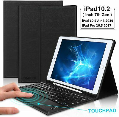 AU53.76 • Buy FOR IPad 8th/7th 10.2 Pro 10.5  Folio Case With Bluetooth Keyboard Stand Cover