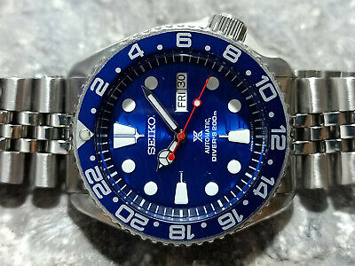 $ CDN110.32 • Buy Lovely Save The Ocean Mod Seiko 7s26-0020 Skx007 Automatic Mens Watch 971863