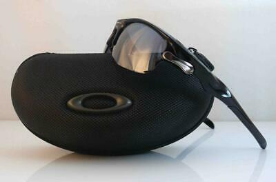 AU189.99 • Buy Oakley Sunglasses Fast Jacket Asian Fit Polished Black Fr Black Iridium Lens New