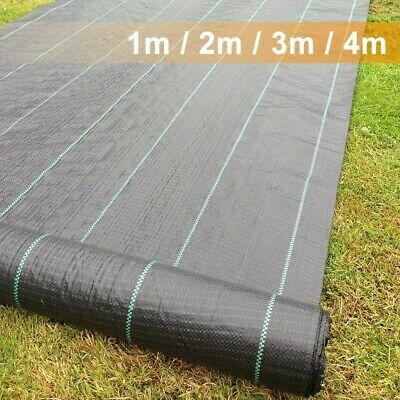 £29.99 • Buy Heavy Duty Weed Control Fabric Membrane Garden Ground Cover Mat Landscape Sheet