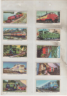 Kelloggs Cards The Story Of The Locomotive Series 2 Full Set Of 16 (12) • 1.99£