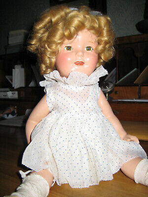 $44 • Buy Shirley Temple Doll 15 Inches Tall, 1930s Vintage