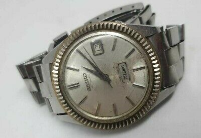 $ CDN166.67 • Buy Ultra Rare SEIKO SEIKOMATIC WEEKDATER 6206-8110 Automatic Watch For Parts
