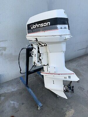AU2750 • Buy 90 Hp JOHNSON / Evinrude Outboard Motor  ( Freight Australia Wide Available)