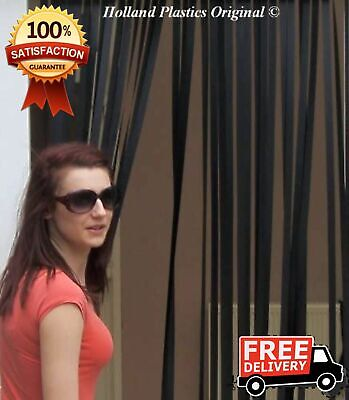 Plastic Strips Insect Control Fly Mosquito Blinds Screen Slat Type Door Curtain • 12.20£