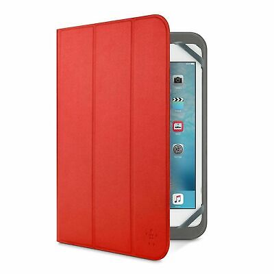 £6.99 • Buy Belkin IPad 3 2 1 Tri-Fold Folio Cover Case & Stand - Red Free Delivery
