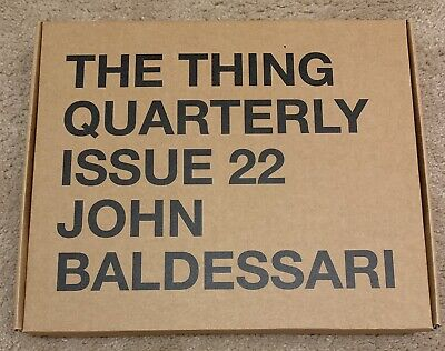 John Baldessari Pillowcase Set, Issue 22 From The Thing Quarterly, NEW • 393.05£