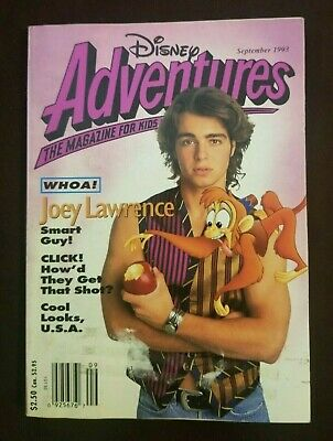 $6.99 • Buy Disney Adventures Magazine  Joey Lawrence (September 1993) R.E.M. Ad