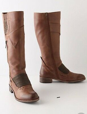 $79.99 • Buy Anthropologie Leather Boots Everybody By BZ Moda 38 $250