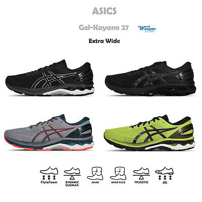 AU221 • Buy Asics Gel-Kayano 27 4E Extra Wide Overpronation Men Road Running Shoes Pick 1