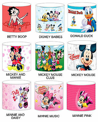Mickey Mouse Club Childrens Lampshades Ceiling Light Table Lamp Bedding Curtains • 28.99£