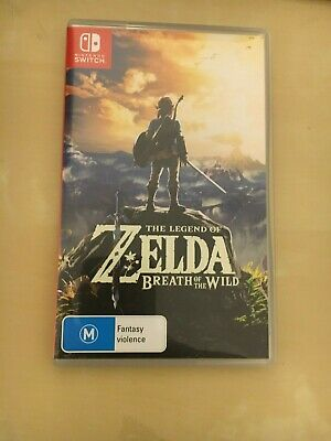 AU70 • Buy USED - The Legend Of Zelda: Breath Of The Wild With Hand Crafted Amiibos