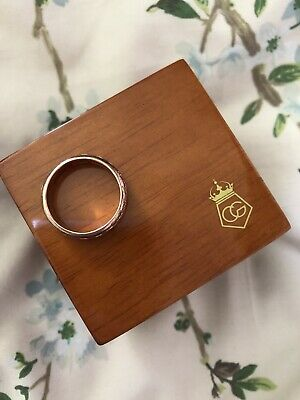 Welsh Clogau Rose Gold Annwyl Ring. Size O. • 160£