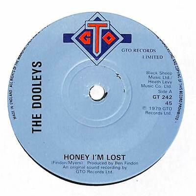The Dooleys - Honey I'm Lost - 7  Record Single • 2.65£