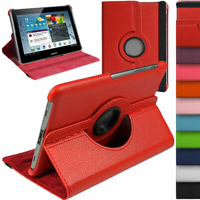 £5.99 • Buy 360 Rotate Leather Stand Case Cover For Samsung Galaxy Tab 2 10.1 P5110 P5100