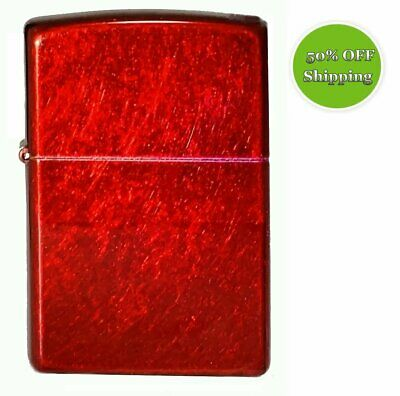 AU20.50 • Buy Genuine Classic Candy Apple Red Zippo Lighter - Model #21063 - New Mint In Box