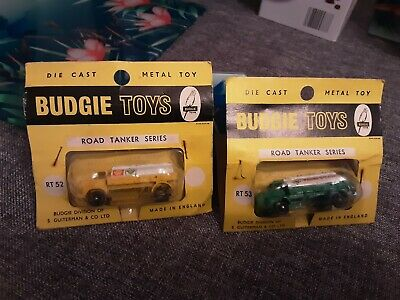 BUDGIE TOYS Diecast Road Tanker Series RT52 And RT53 • 50£