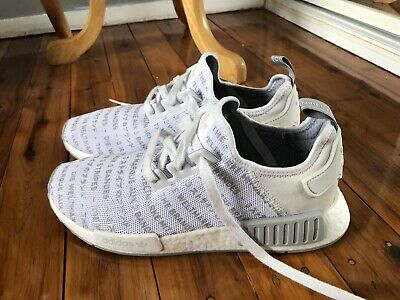 AU82.50 • Buy Adidas NMD R1 The Brand With The 3 Stripes  Whiteout UK 9.5 UK 9 Eur 43.5 As New