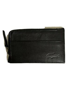 AU39.50 • Buy Lacoste Card Holder/ Leather Wallet/ Genuine Leather Wallet