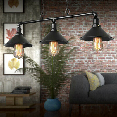 £29.99 • Buy Industrial Retro Pendant Light Shade Suspended Ceiling Lights Style Metal Lamp
