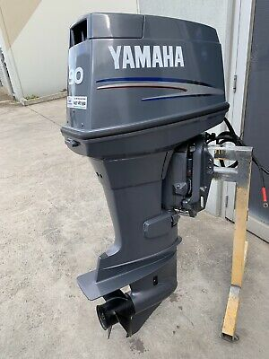 AU5999 • Buy 90 Hp Yamaha Outboard Motor 20 Inch Long Shaft 2006 (Freight Australia Wide )