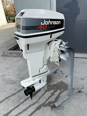 AU3650 • Buy 40 Hp JOHNSON /Evinrude Outboard Motor (Freight Australia Wide)