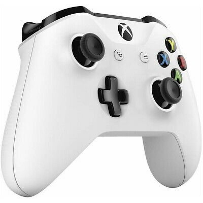 $72.98 • Buy Official Microsoft Xbox One S X Windows Wireless Bluetooth Controller - White