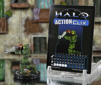 £19.99 • Buy Halo ActionClix #084 Master Chief With Rocket Launcher W/ Card WizKids