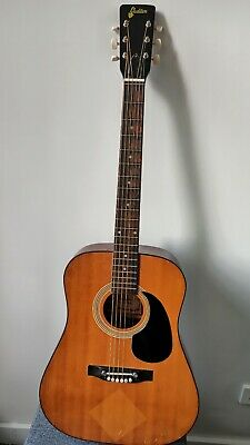 AU99.50 • Buy Audition 1960s Vintage Acoustic Guitar Made In Japan