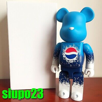 $899.99 • Buy Medicom 400% Bearbrick ~ Pepsi 2011 Be@rbrick Blue Exclusively In HK