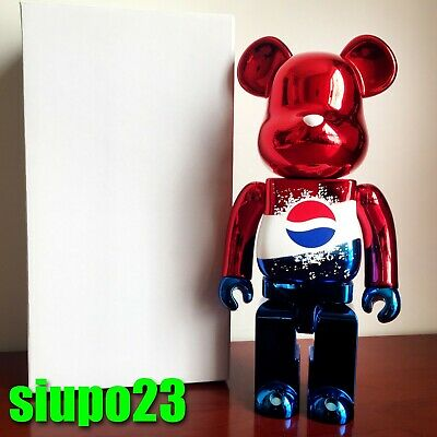 $1099.99 • Buy Medicom 400% Bearbrick ~ Pepsi 2011 Be@rbrick Red Exclusively In HK